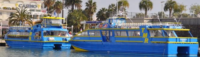 promenade bateau saint raphael